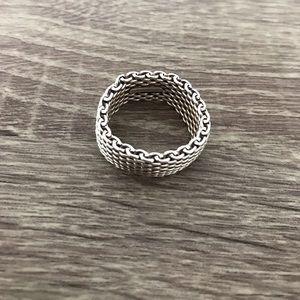 Tiffany & Co. Jewelry - Tiffany & Co. 925 Somerset Mesh Ring